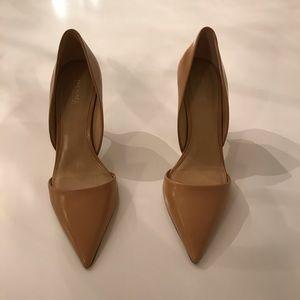 Michael Kors Cream and Gold Heels